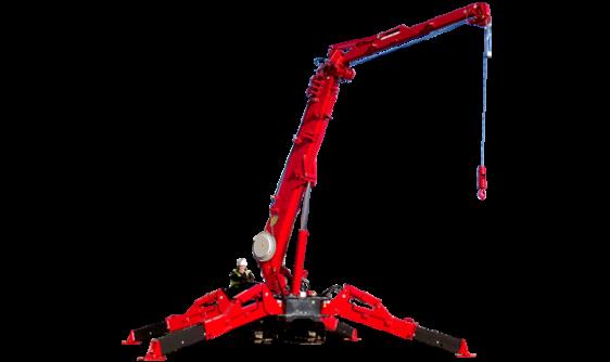 URW-706-2 Spider Crane