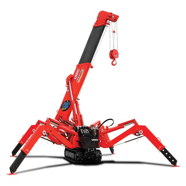 UNIC URW-245 Spider Crane