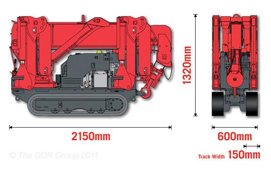 URW-245 Dimensions