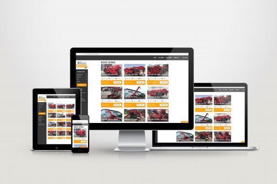 usedminicranes.com website