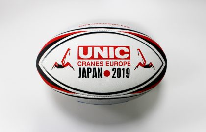UNIC Cranes Japan Rugby Ball