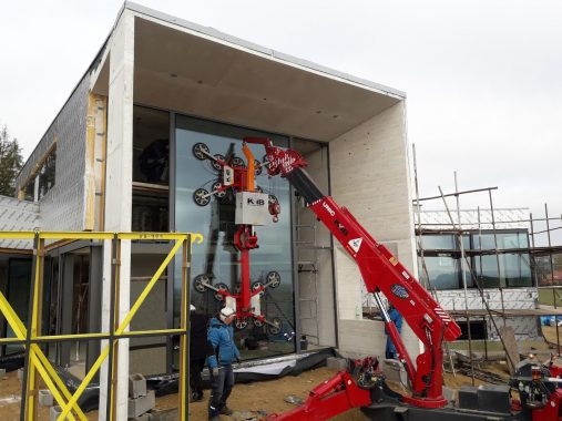 Oversize Glass Lift for UNIC Mini Crane