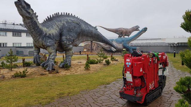 Dinosaur Lift for UNIC Mini Crane