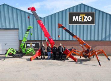 Metzo Machinery UNIC Cranes Delivery