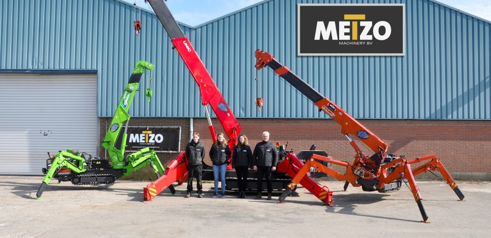 Metzo Machinery UNIC Cranes Delivery